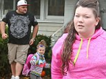 Teen Mom Amber Portwood reunites with four-year-old daughter Leah after 17 months in prison