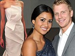 EXCLUSIVE: Catherine Giudici shopped for wedding dress last week and hinted designer is J. Mendel... as filming has already begun on Sean Lowe nuptial special