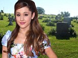 Has someone been watching too much True Blood? Ariana Grande 'encounters demons' during visit to infamous cemetery