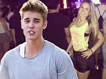 Justin Bieber invites 10 lucky girls back to his house in Rio where he woos them with decidedly child-like feast of 'chocolate, crisps and chicken nuggets'