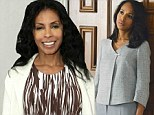 Scandal mother: Khandi Alexander, shown in February in Los Angeles, will portray the mother of Kerry Washington's Olivia Pope character on Scandal