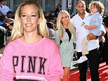 Pregnant again: Kendra Wilkinson, shown on Thursday in New York City, has been coping with morning sickness in the early stages of her second pregnancy