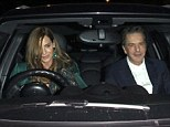 Creatures of habit, Trinny, 49, and Saatchi, 70, decided to once again arrange the meeting at Scott's restaurant, on Mount Street, Mayfair, on Tuesday evening