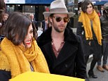 It's the place to be! Nikki Reed and Paul McDonald lead a flurry of celebrity couples out of luxurious NYC Trump Hotel... and Nick Nolte