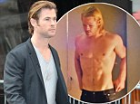 'I'm on a starvation diet!': 'Scrawny' Chris Hemsworth reveals he's only eating 500 calories a day for new lost at sea film