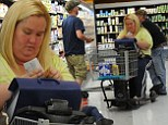 Wheely useful! Honey Boo Boo's Mama June employs mobility scooter for grocery shopping... despite recent weight loss