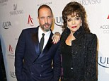 Joan Collins gives fans the 'cold shoulder' after reportedly saying she doesn't 'touch the public'