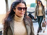 Bethenny Frankel rocks equestrian-inspired boots and blazer as she celebrates talk show ratings boost