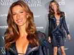 That's a bit racy for the WSJ! Gisele dazzles in cleavage-baring dress as she celebrates Wall Street Journal Magazine cover