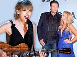 Taylor Swift leads the winners at CMA Awards... while Blake Shelton is touched as he scoops Album Of The Year gong