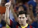 Barcelona's Barcelona's Lionel Messi