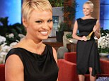 Pamela Anderson's new short hairdo