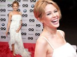 Kyllie Minogue attends the GQ Men Of The Year Awards in Berlin on Thursday night