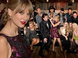 Taylor Swift celebrates Pinnacle Award by partying the night away with label mates at the Big Machine Label Group 2013 CMA Awards afterparty
