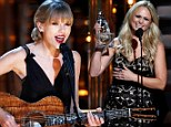 Taylor Swift leads winners with three CMA Awards... but loses out to Miranda Lambert in Female Vocalist Of The Year category