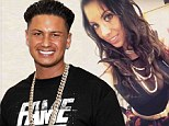 Father figure: Pauly D, shown in September in Las Vegas, was set to meet his five-month-old daughter on Wednesday for the first time