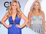 Miranda Lambert shows off much slimmer figure as she beats Taylor Swift to win Female Vocalist Of The Year at CMAs