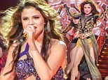 Selena Gomez on tour
