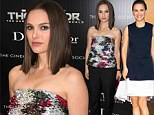 Damsel in Dior! Natalie Portman slips into her second and most dazzling designer outfit to attend Thor screening