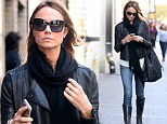 Stacy Keibler steps out solo in NYC