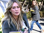 Hilary Duff goes to acting class in Los Angeles