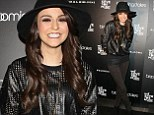 Cher Lloyd looks stunning in wet-look sweatshirt and skinnies for performance at music charity gala