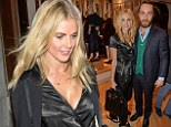 Donna Air and James Middleton enjoy a night out at the J. Crew launch