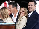 LeAnn Rimes and Eddie Cibrian put on touchy feely red carpet show at film premiere... days after slamming split reports