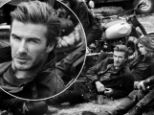 David Beckham has been announced as the new face of luxury British label Belstaff