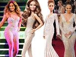 Where have your curves gone, JLo? Mattel launches Barbie in Jennifer Lopez's image - but forgets to include that famous derriere