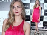 Cara Delevingne enjoyed some fun at the after party