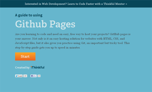A Guide to Using Github Pages