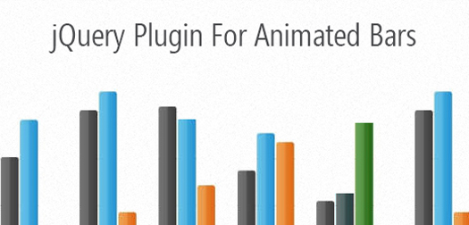 jQuery Animated Bar Plugin jqBar