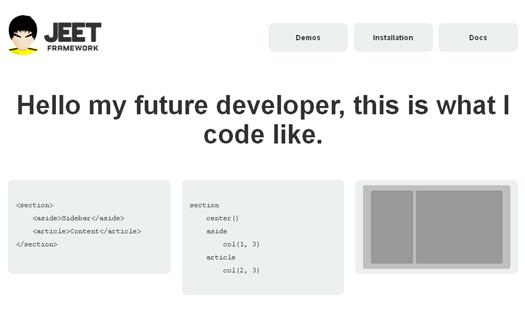 Jeet Framework