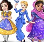 Real-world Princess cartoon