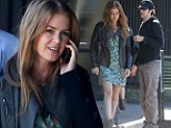 Lunch with the in-laws! Isla Fisher dons pretty floral dress as she grabs sushi with husband Sacha Baron Cohen and his parents