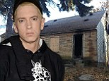 Fire badly damages Eminem's Detroit childhood home... which features on album cover for new LP