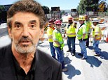 Sitcom producer Chuck Lorre rants about the endless 405 freeway construction on CBS's Mom