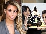 Kim Kardashian has hit back at 'claims' she belongs to a cult.