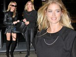 ¿Bras, panties, jewels and feathers¿it¿s that time of year again!¿ Doutzen Kroes and Candice Swanepoel head to final fittings for Victoria's Secret annual fashion show