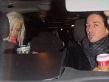 Blast from the past: Rita Ora pictured after leaving her London hotel and arriving home with ex Dave Gardner whom she dated earlier this year