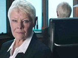 Judi Dench resurrects Bond favourite 'M' for Funny or Die sketch battling the MPAA