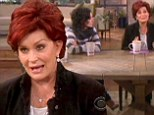 'I'm a loose cannon!' Sharon Osbourne apologises to women of The View... but cannot even get the name of the show right