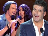 'I¿ve never had anything so quick in my life': Simon Cowell is exhausted after fast food edition of The X Factor USA in which NOONE was eliminated