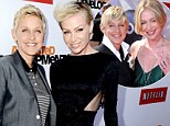 'I was very, very nervous': Portia de Rossi opens up about making her public debut 'as a gay woman' during candid new chat