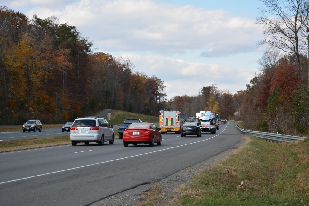 Ronald Reagan Wilson Memorial Highway (Dumfries Road) Route 234 at Warm Springs Lane in Prince William County between Dumfries and Manassas.