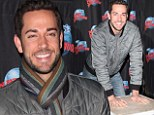 Thor star Zachary Levi cements his star status with handprint ceremony at Planet Hollywood