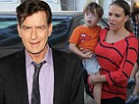 Charlie Sheen violates gag order as he calls Brooke Mueller an 'adderall snorting husk' in Twitter tirade