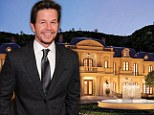New pictures reveal the sheer opulence of Mark Wahlberg's six-acre Beverly Hills manor with its very own water park