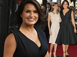 Mariska Hargitay is joined by good pal Hilary Swank as she receives a star on the Hollywood Walk Of Fame